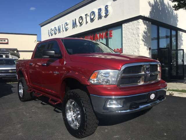 2010 Dodge Ram Pickup 1500 4x4 SLT 4dr Crew Cab 5.5 ft. SB Pickup - Pleasanton CA