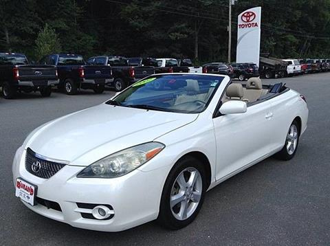 2007 Toyota Camry Solara for sale in Westminster, VT