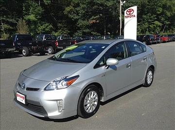 2012 Toyota Prius Plug-in Hybrid for sale in Westminster, VT