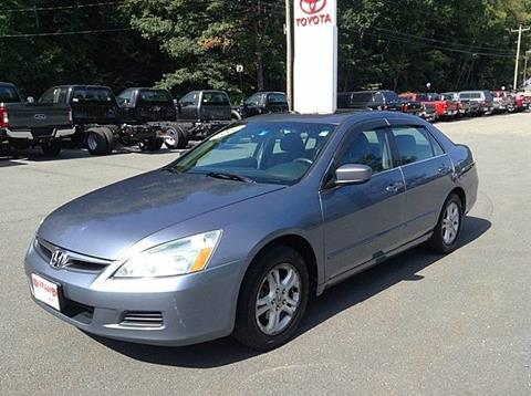 2007 Honda Accord for sale in Westminster, VT
