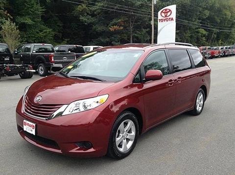 2016 Toyota Sienna for sale in Westminster, VT