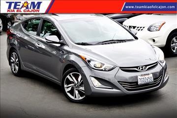 2014 Hyundai Elantra for sale in El Cajon, CA