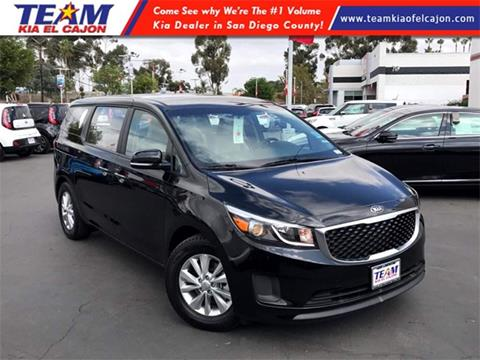 2017 Kia Sedona for sale in El Cajon, CA