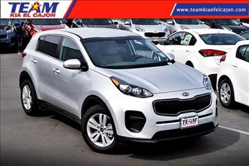 2017 Kia Sportage for sale in El Cajon, CA