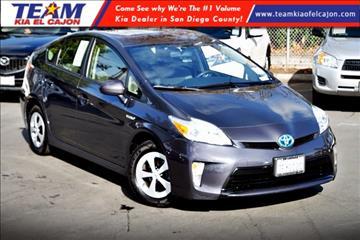 2014 Toyota Prius for sale in El Cajon, CA