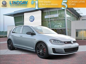 2017 Volkswagen Golf GTI for sale in Sterling, VA