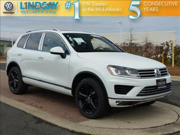 2017 Volkswagen Touareg for sale in Sterling, VA
