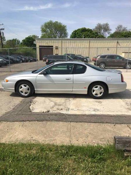 2003 Chevrolet Monte Carlo For Sale At Henderson Automotive, LLC In Oak  Park MI