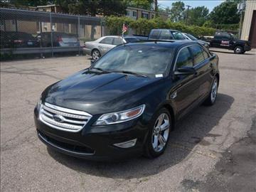 2010 Ford Taurus for sale at Henderson Automotive, LLC in Oak Park MI