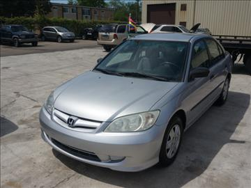 2004 Honda Civic for sale at Henderson Automotive, LLC in Oak Park MI