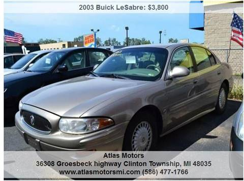 2001 Buick LeSabre for sale in Clinton Township, MI