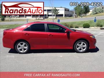 2012 Toyota Camry for sale in North Salt Lake, UT