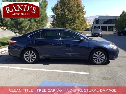 2017 Toyota Camry Hybrid for sale in North Salt Lake, UT