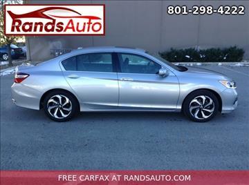 2016 Honda Accord for sale in North Salt Lake, UT