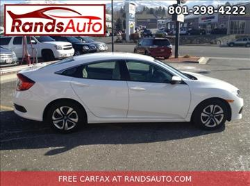 2016 Honda Civic for sale in North Salt Lake, UT