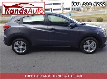 2016 Honda HR-V for sale in North Salt Lake, UT