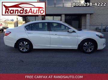 2014 Honda Accord for sale in North Salt Lake, UT
