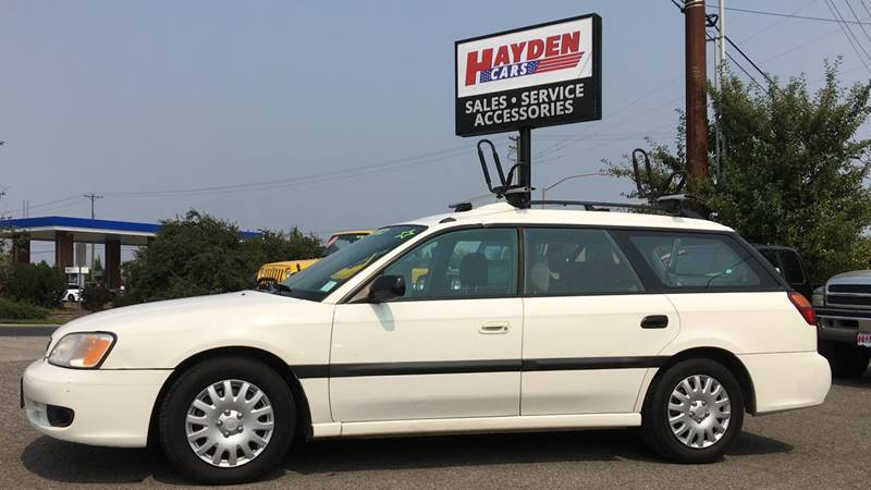 2000 Subaru Legacy for sale at Hayden Cars in Hayden ID