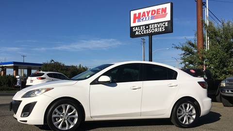 2011 Mazda MAZDA3 for sale at Hayden Cars in Hayden ID