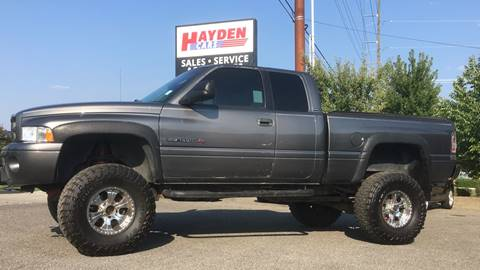 2001 Dodge Ram Pickup 1500 for sale at Hayden Cars in Hayden ID