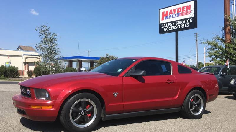 2009 Ford Mustang for sale at Hayden Cars in Hayden ID