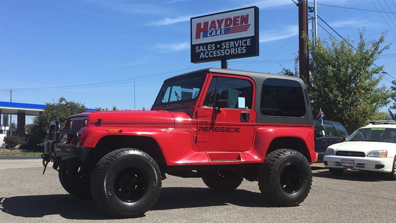 1992 Jeep Wrangler for sale at Hayden Cars in Hayden ID