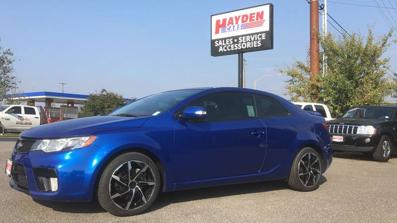 2010 Kia Forte Koup for sale at Hayden Cars in Hayden ID