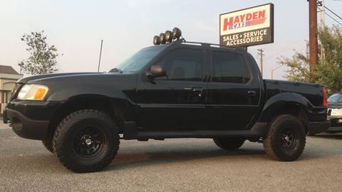 2004 Ford Explorer Sport Trac for sale at Hayden Cars in Hayden ID