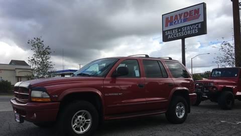1998 Dodge Durango for sale in Hayden, ID