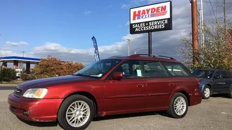 2003 Subaru Legacy for sale in Hayden, ID