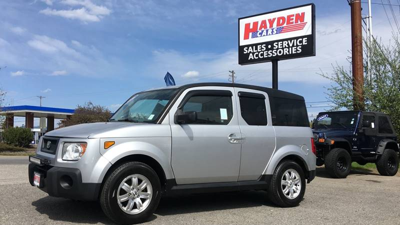 2006 Honda Element For Sale At Hayden Cars In Coeur D Alene ID