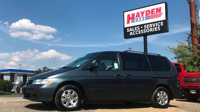 2004 Honda Odyssey For Sale At Hayden Cars In Coeur D Alene ID