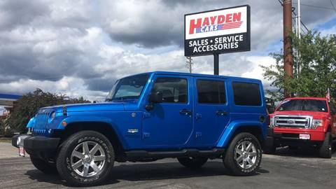 2015 Jeep Wrangler Unlimited for sale in Coeur D Alene, ID