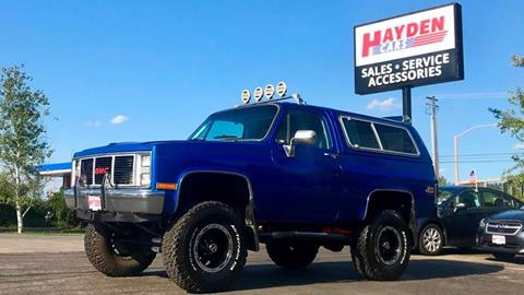 1986 GMC Jimmy for sale in Coeur D Alene, ID
