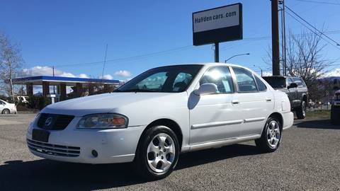 2006 Nissan Sentra for sale at Hayden Cars in Coeur D'Alene ID