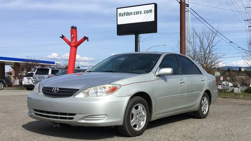 2002 Toyota Camry for sale at Hayden Cars in Coeur D'Alene ID