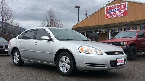 2007 Chevrolet Impala for sale at Hayden Cars in Coeur D'Alene ID