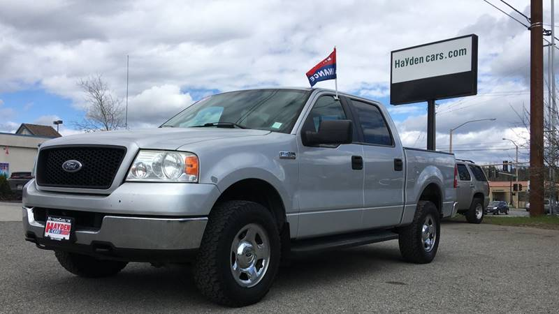 2005 Ford F-150 for sale at Hayden Cars in Coeur D'Alene ID
