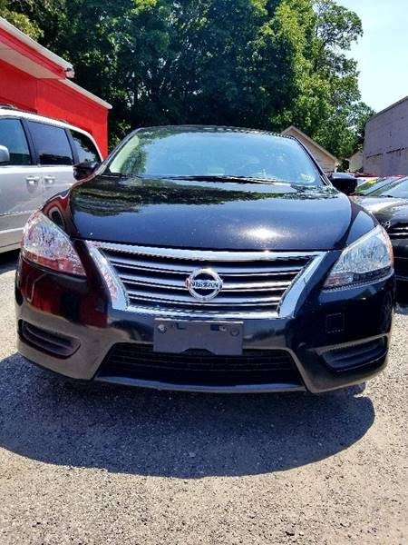 2013 Nissan Sentra for sale at AUTORAMA SALES INC. in Wantagh NY