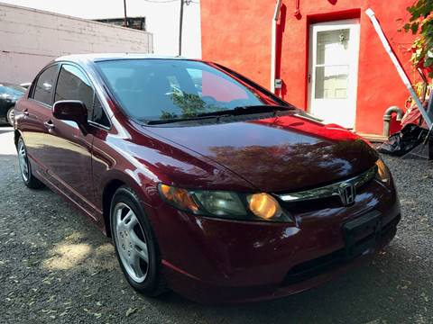 2007 Honda Civic for sale at AUTORAMA SALES INC. in Wantagh NY