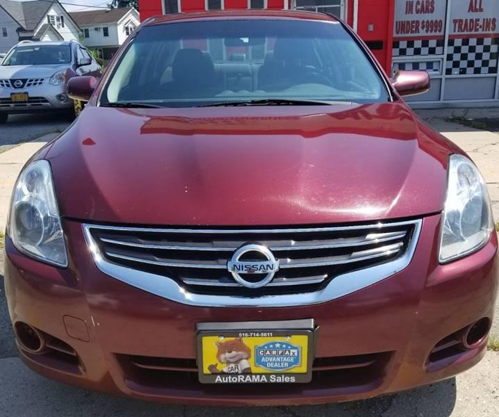 2012 Nissan Altima for sale at AUTORAMA SALES INC. - Farmingdale in Farmingdale NY