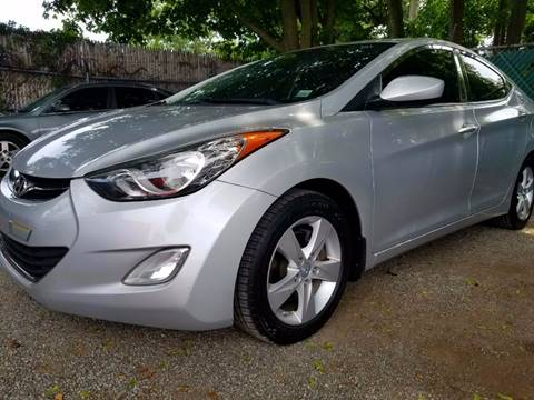 2012 Hyundai Elantra for sale at AUTORAMA SALES INC. - Farmingdale in Farmingdale NY