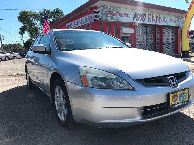 2003 Honda Accord for sale at AUTORAMA SALES INC. in Wantagh NY