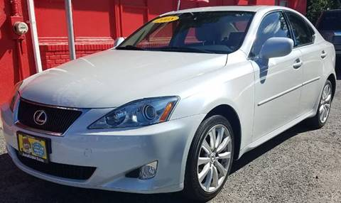 2008 Lexus IS 250 for sale at AUTORAMA SALES INC. in Wantagh NY