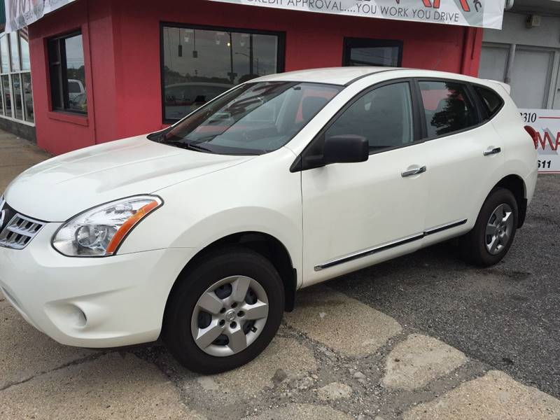 Used Nissan Rogue For Sale Houston Tx Cargurus: 2013 Nissan Rogue S AWD For Sale
