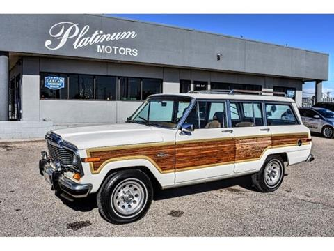 1985 Jeep Grand Wagoneer for sale in Midland, TX