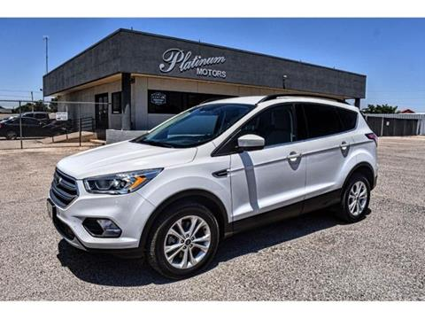 2017 Ford Escape for sale in Midland, TX