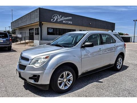 Used Cars Midland Tx >> 2011 Chevrolet Equinox For Sale In Midland Tx