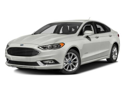 2017 Ford Fusion Hybrid SE for sale at GMT AUTO SALES in Florissant MO
