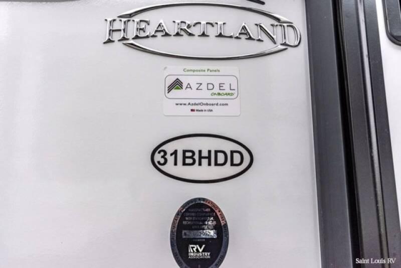 2021 Heartland NORTH TRAIL 318BHDD - Florissant MO